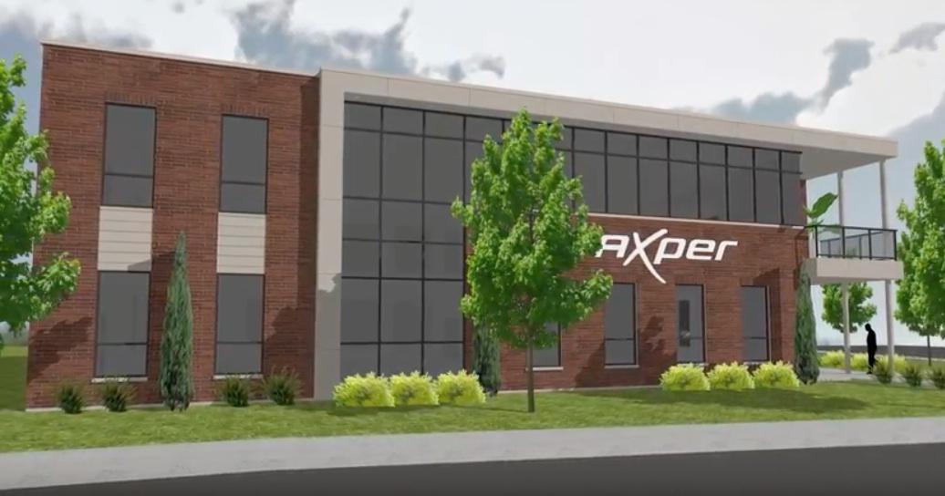 Le nouveau quartier général d'Axper People Counting Solutions