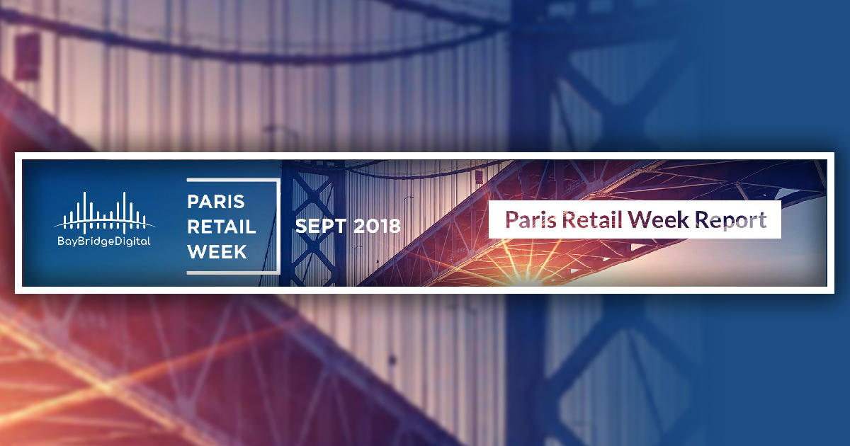 Paris retail week promo